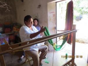 Juan stringing