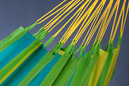 Sonrisa Hammock Detail-Lime
