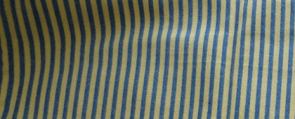 Blue/Gold thin stripes