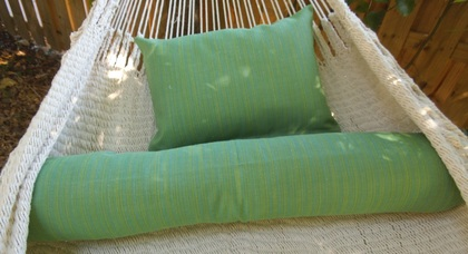 Kiwi Lime Pillow/ Bolster Set