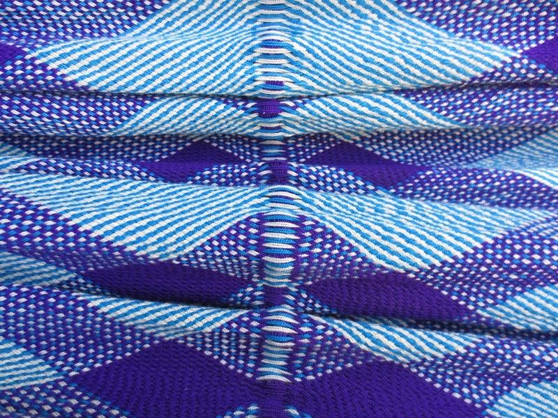 Blue Bird Weave Detail