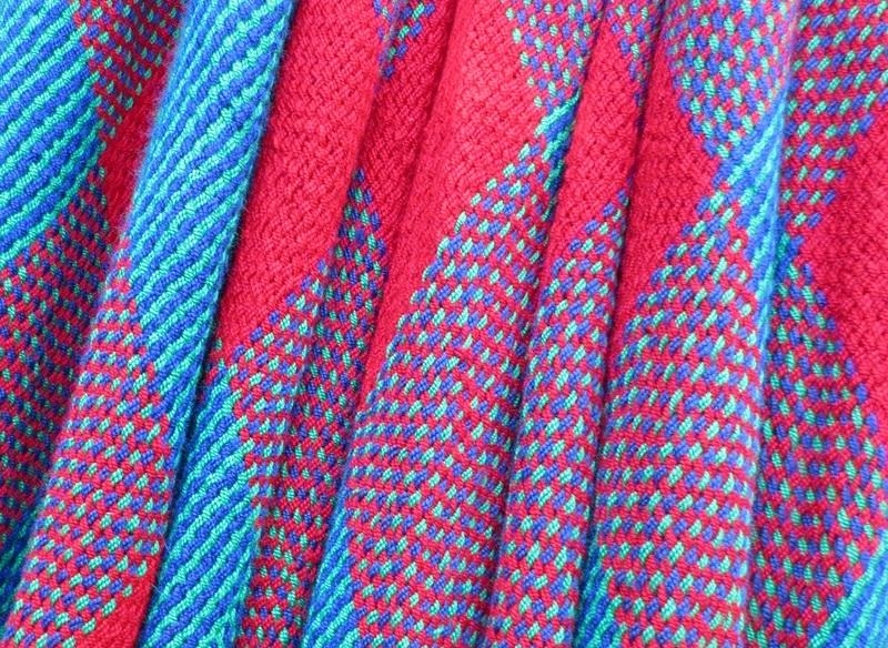 Floral Weave Detail