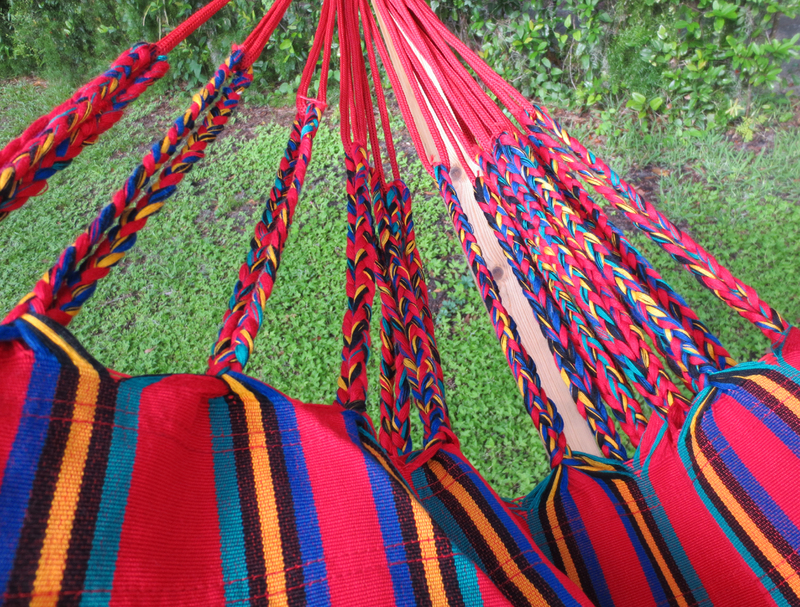 Cartagena Red Dominant Hammock End Detail