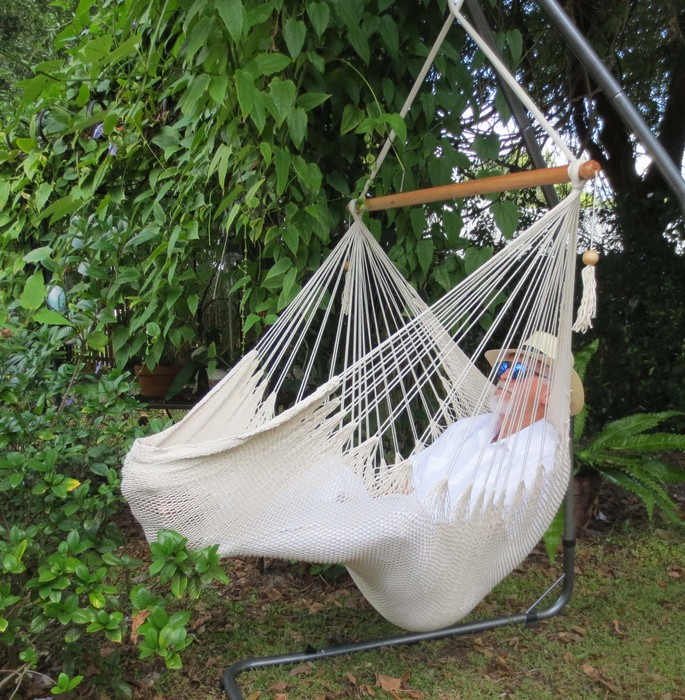 Ecru-Natural Hammock Chair
