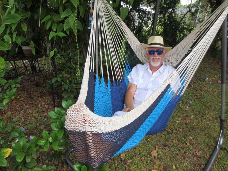 Blues Comfort Hammock Chair