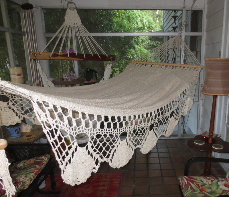 la playa playa   bar hammock   hamaca  crochet borders    spreader bar      rh   seasidehammocks