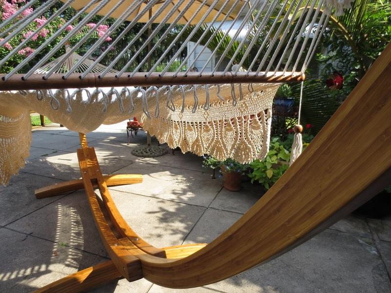 Royal Wedding Hammock on Bamboo
