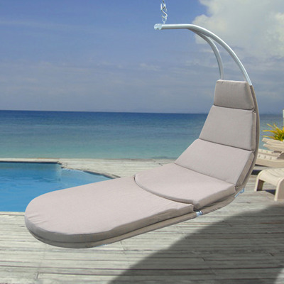 Hanging Chaise Lounge With Cushion 2
