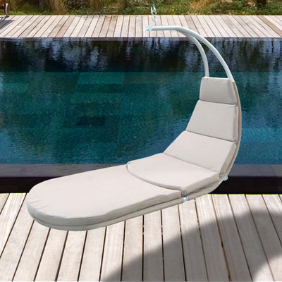 Hanging Chaise Lounge With Cushion 3