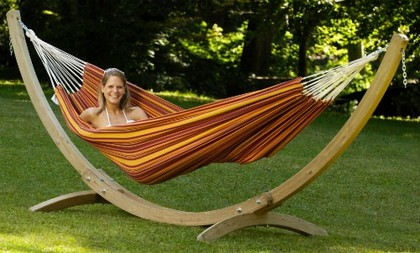 Olympus Stand with Barbados hammock
