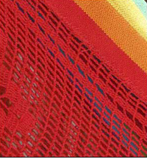 Icarai Rainbow Hammock Detail