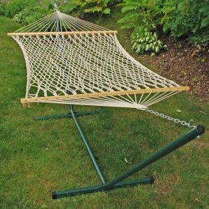 11 foot cotton rope hammock