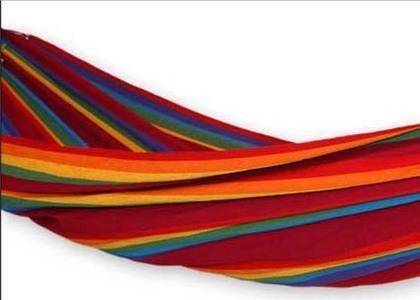 Iracema Rainbow Hammock Side View