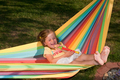 LA SIESTA - Hammock for Children IRI rainbow