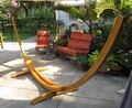 The Big Bamboo--Hammock Stand