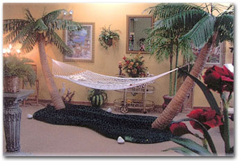Palm Tree Hammock Stand